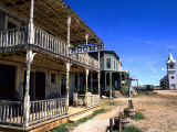 Scenic of 1880&#39;s Ghost Town  Murdo  South Dakota  USA