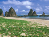 Sea Stacks  Yambaru Coastline  Okinawa  Japan