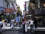 Buenos Aires Shopping  Calle Florida Pedestrian Mall  Argentina