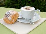 Morning Cappuccino at Eden Grand Hotel  Lake Lugano  Lugano  Switzerland