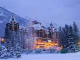 Banff Springs Hotel  Banff  Alberta