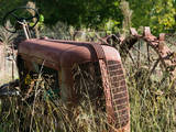 Old Abandoned Farm Tractor  Defiance  Missouri  USA