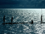 Children Fishing  Koror  Micronesia  Federated States Of