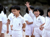 School Children  Hong Kong  China