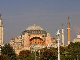 The Hagia Sophia Mosque  Istanbul  Turkey