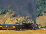 Durango  Silverton Train  Colorado  USA