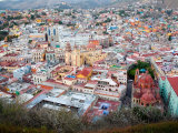 Historic City Center with Church of San Diego  Basilic and University  Guanajuato  Mexico