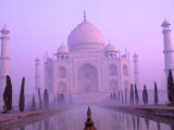 Taj Mahal at Dawn  Agra  India