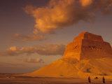First Pyramid of Pharaoh Snerfu  4th Dynasty  Meidum  Old Kingdom  Egypt