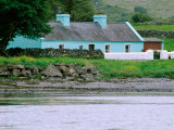 Cottage by Water  Ballyvaughan  Ireland