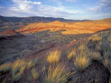 Painted Hills Unit  John Day Fossil Beds National Monument  Oregon  USA