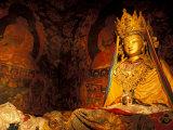 Monastery Statue  Lhasa  Tibet