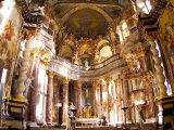 Hofkirche Chapel in the Residenz Palace  Baroque  Wurzburg  Germany
