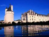 Chateau De Chenonceau in Loire Valley  Chenonceaux  France