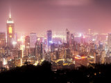 Central Overview from Stubbs Road Lookout  Hong Kong  China