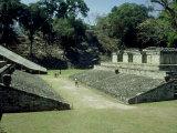 Mayan Ruins at Copan  Great Plaza  Honduras