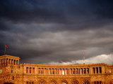 Storm Clouds Over Ministry of Finance and Economy Building  Yerevan  Armenia
