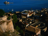 Rooftop View of Nafplio from Akronafpila Fortress  Nafplio  Greece