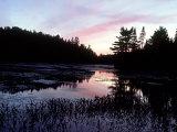 Dusk  Algonquin Provincial Park  Canada