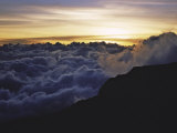 Sunset Above the Clouds  Kilimanjaro