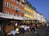 Nyhavn Outdoor Cafes  Copenhagen  Denmark
