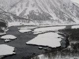 Snowy Kamchatka in Russia