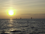Sailboats with Sunset
