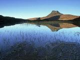 Stac Pollaidh from Loch Lurgainn  Scotland