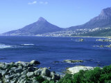 Lions Head and Camps Bay Near Cape Town  South Africa