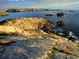 Coast at Sheigra in Evening Light  Scotland