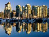 Coal Harbour Marina  Vancouver  Canada