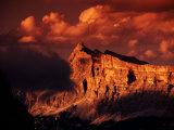 La Varella Massif  Kreuzkrofel Gr (Sasso Croce)  From Pisciadu Hut  Gruppo Sella  Dolomites  Italy