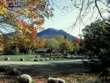 Katahdin Stream Campground  Mt Katahdin  Maine  USA