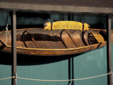 Wooden Boat Hanging at The Center for Wooden Boats  Seattle  Washington  USA