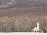 The Wonalancet Union Chapel  White Mountains  New Hampshire  USA