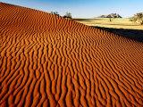 Sand Dune Ripples in Namib Nauklaft National Park  Namib Desert Park  Namibia