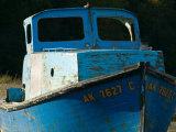 Old Fishing Boat  Ninilchik  Kenai Peninsula  Alaska  USA