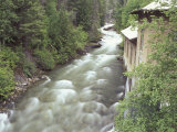 Old Power Plant on Sullivan Creek  Metaline Falls  Washington  USA