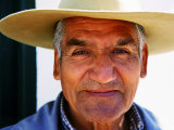 Portrait of Old Guacho (Cowboy)  Cachi  Argentina