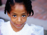 Portrait of Young Girl  Baton Rouge  USA