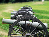 Cannons at Vicksburg National Military Park  Vicksburg  USA