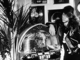 John Bon Jovi Singer of Rock Group Bon Jovi with His Jukebox