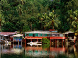 Stilt Houses  Chamorro Bay  Colonia  Micronesia