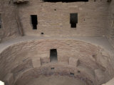 Kiva at Spruce Tree House Ruins  Mesa Verde National Park  Colorado  USA