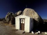 Catholic Church  Catavina Desert  Baja Region  Mexico
