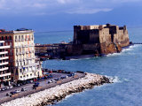 Castel Dell&#39;Ovo  Naples  Italy