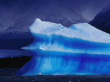 Iceberg in Lake Grey  Patagonia  Torres Del Paine National Park  Chile