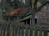 Tipton Place  Cades Cove  Great Smoky Mountains National Park  Tennessee  USA