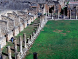Pompei Archeological Site  Naples  Italy