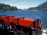 The Sternwheeler in the Columbia Gorge  Cascade Locks  Lewis and Clark Trail  Oregon  USA